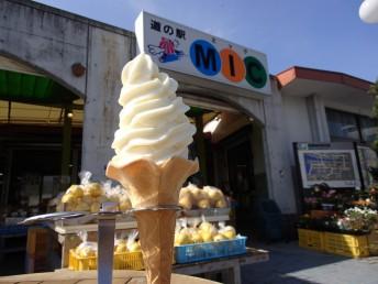 愛南ゴールドソフトクリーム