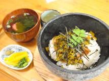 うなぎの石焼混ぜご飯